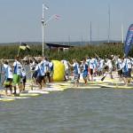Teilnehmer an den Start (Foto: Holger Weimann)