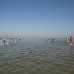Der Neusiedler See am Tag des ION SUP Marathon 2011 by Stylehunters