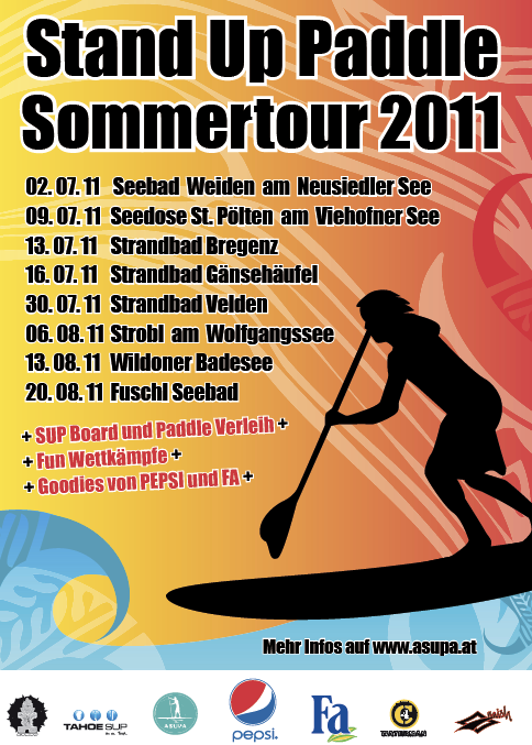 SUP Sommertour
