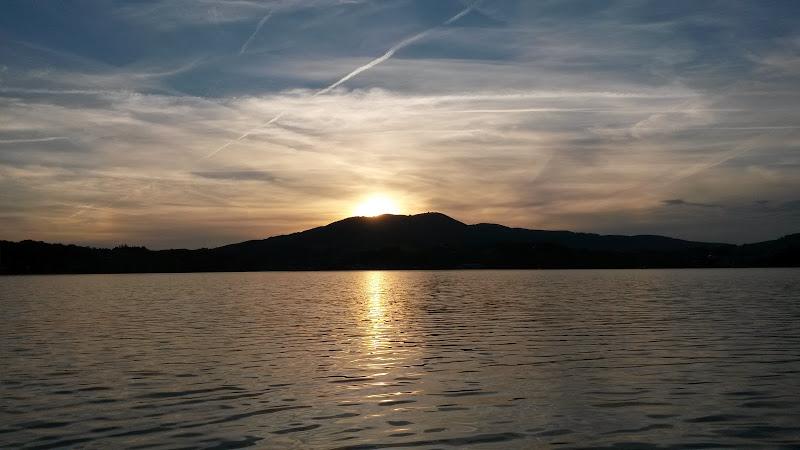 SUP-Sonnenuntergang